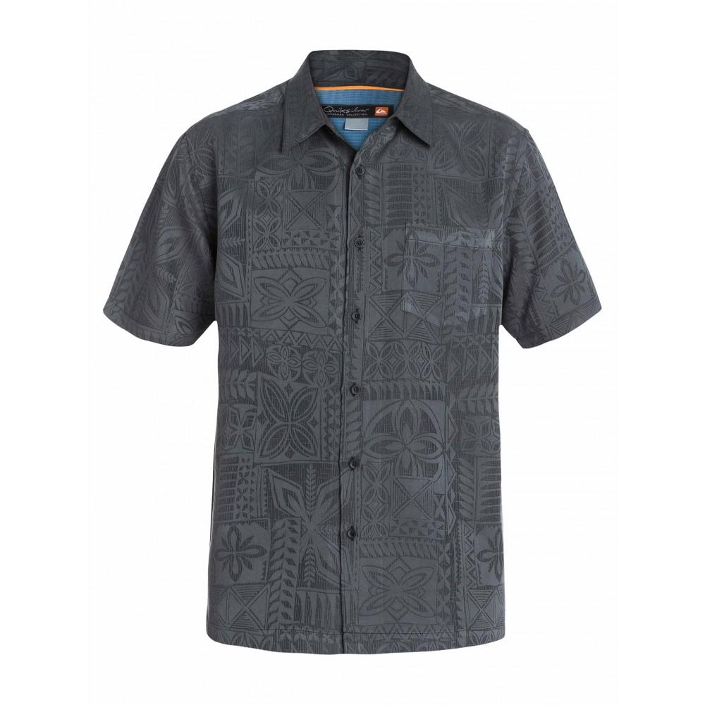 Mens Aganoa Bay Short Sleeve Shirt AQMWT03105 Quiksilver