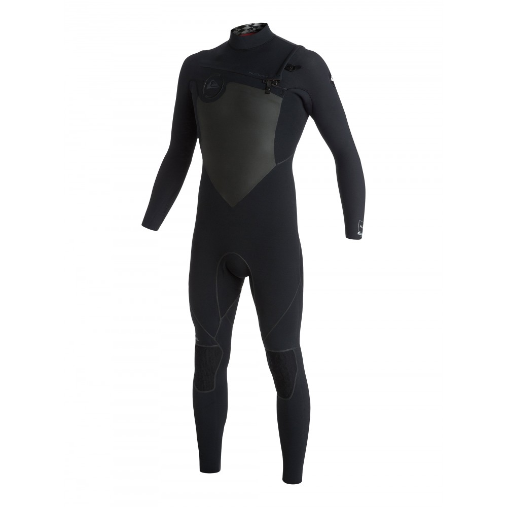 Mens AG47 Performance 4/3mm Chest Zip Steamer Wetsuit AQYW103085 Quiksilver