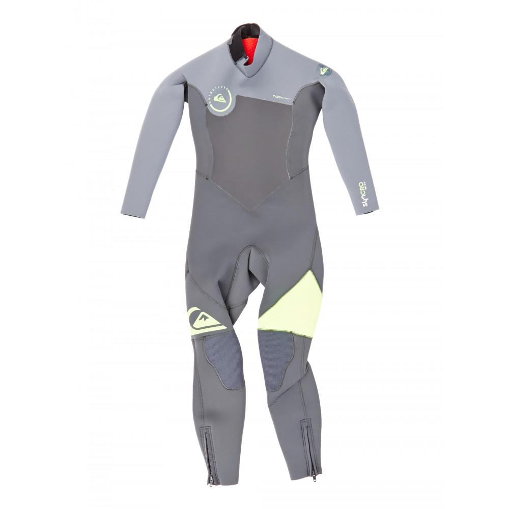 Boys 8-16 Syncro 3/2MM GBS Back Zip Steamer Wetsuit EQBW103013 Quiksilver