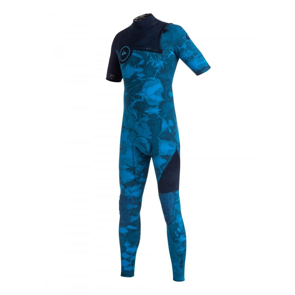 Boys 8-16 Highline 2/2MM Short Sleeve GBS Tie Dye Zipless Steamer Wetsuit EQBW303001 Quiksilver