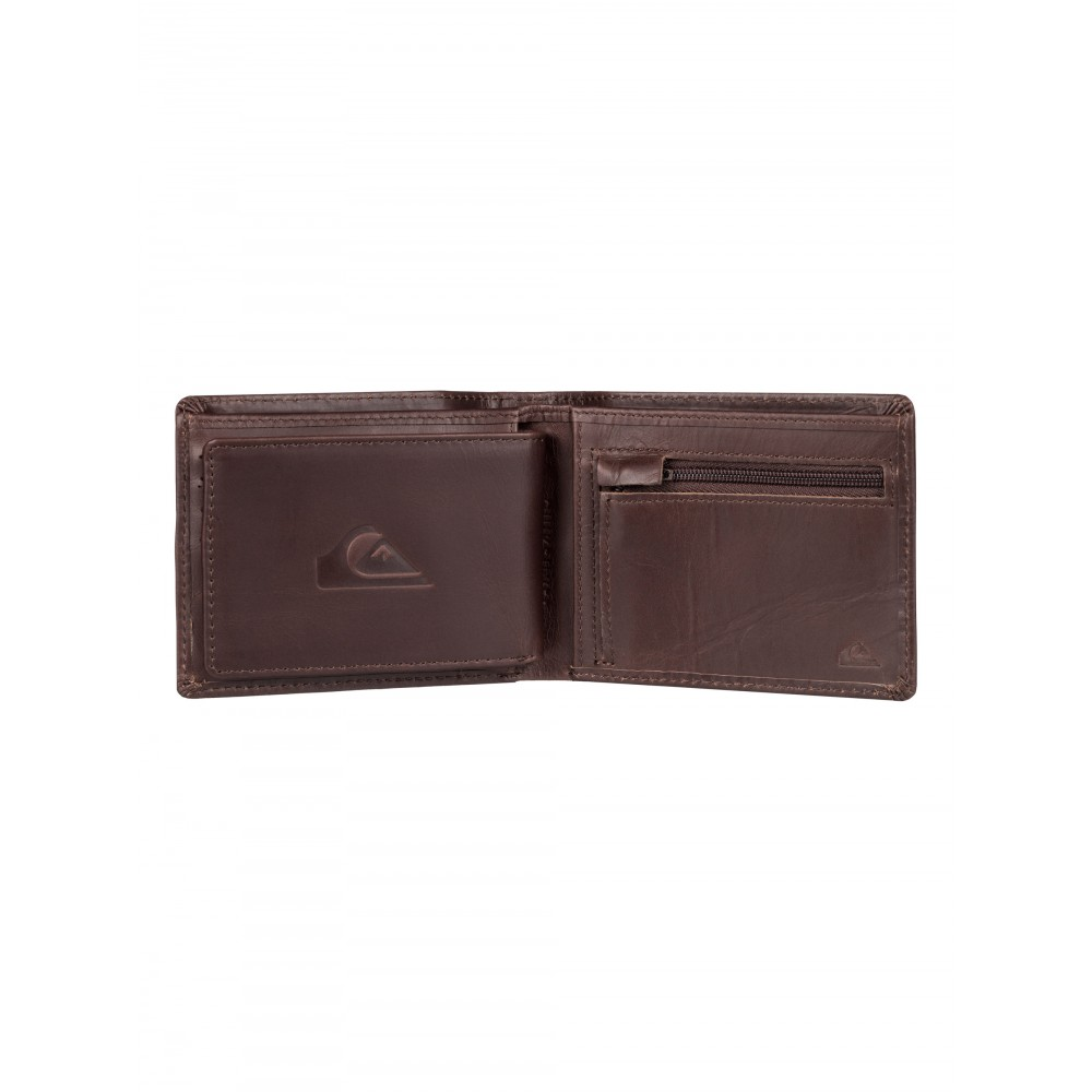 Mens Miss Dollar Leather Wallet EQYAA03321 Quiksilver