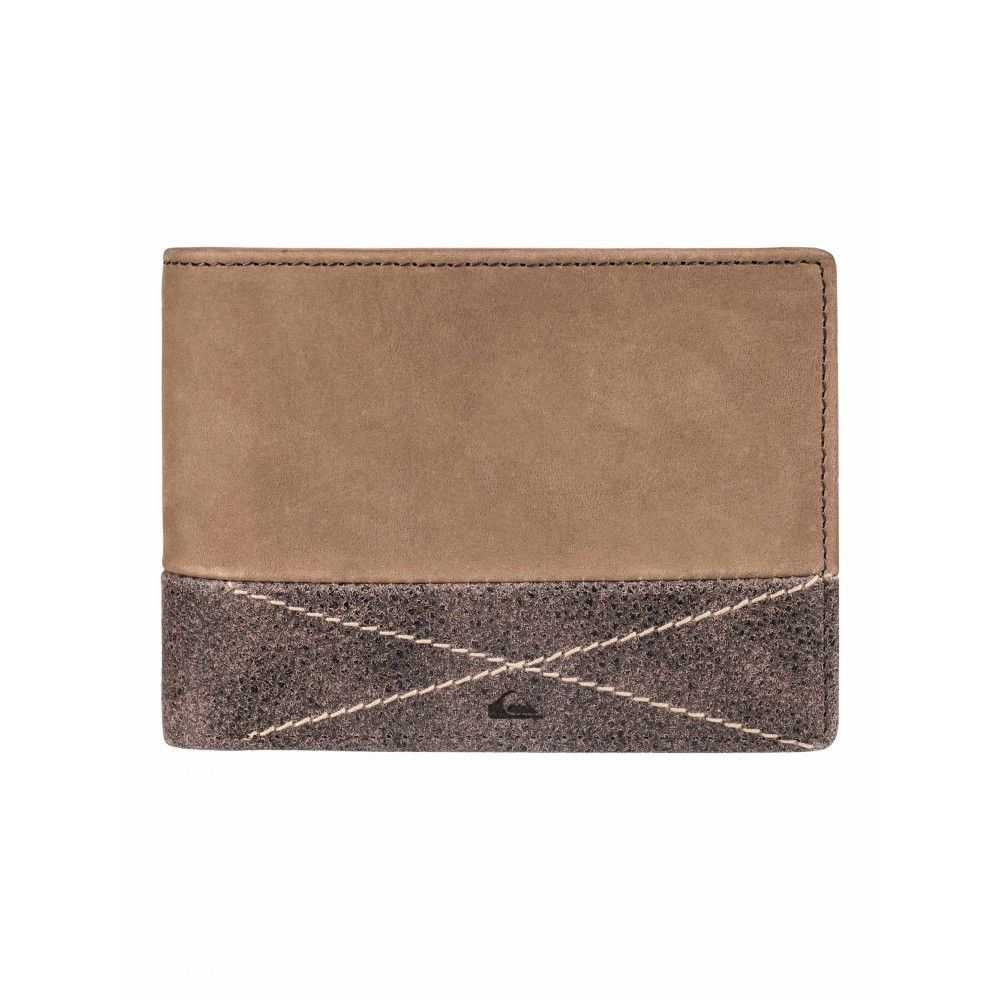 Mens New Classic Plus Leather Wallet EQYAA03516 Quiksilver