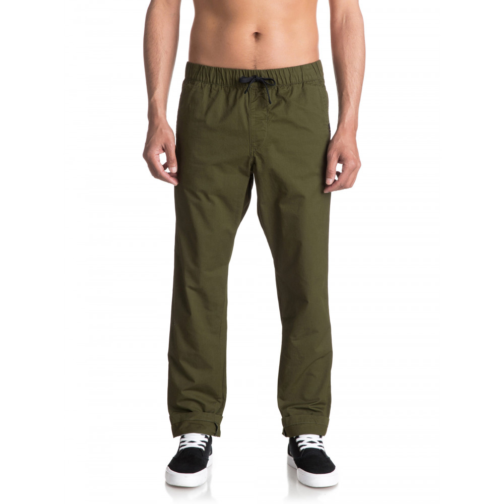 Mens Fun Days Straight Fit Pant EQYNP03110 Quiksilver