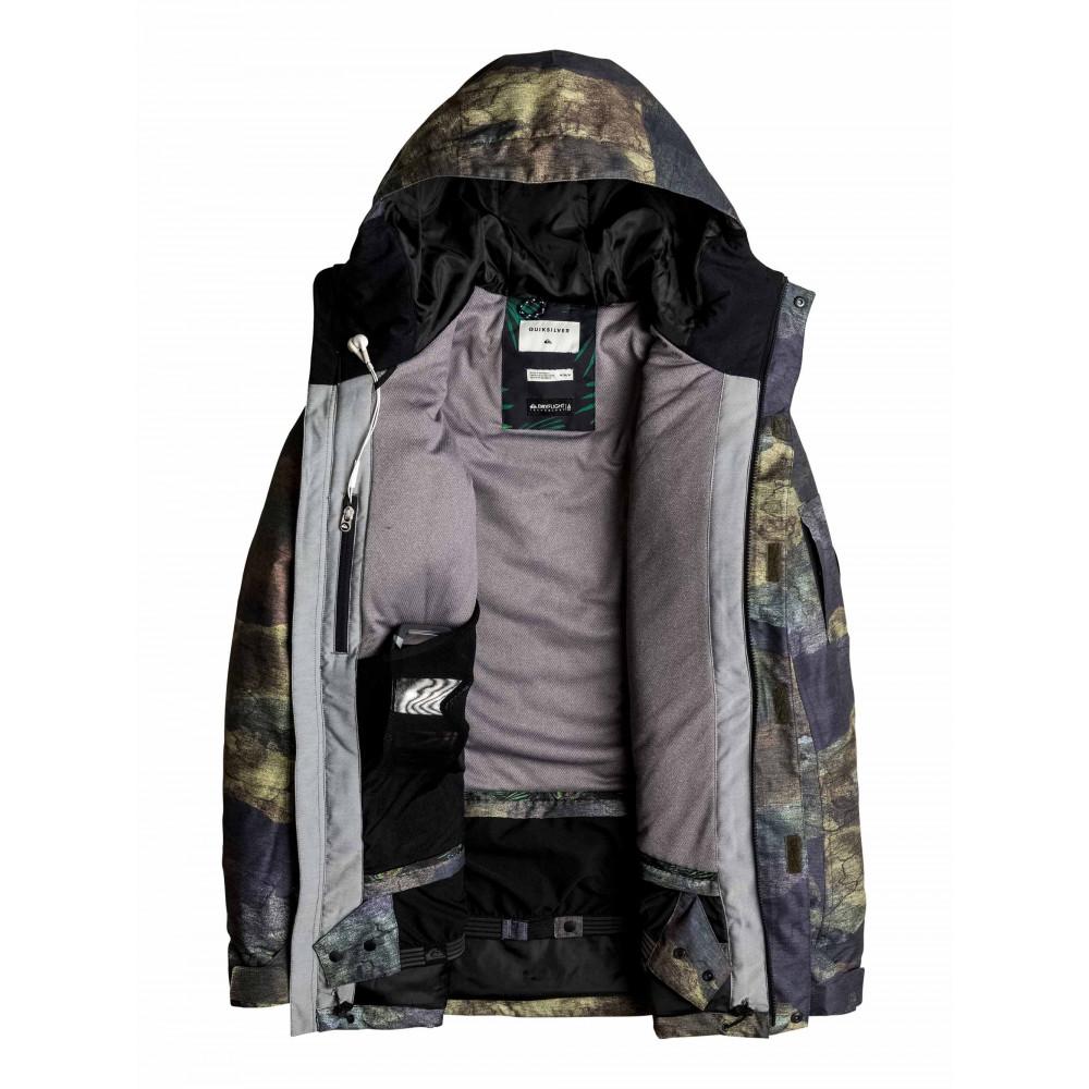 Mens Dark And Stormy 15K Snow Jacket EQYTJ03059 QUIKSILVER