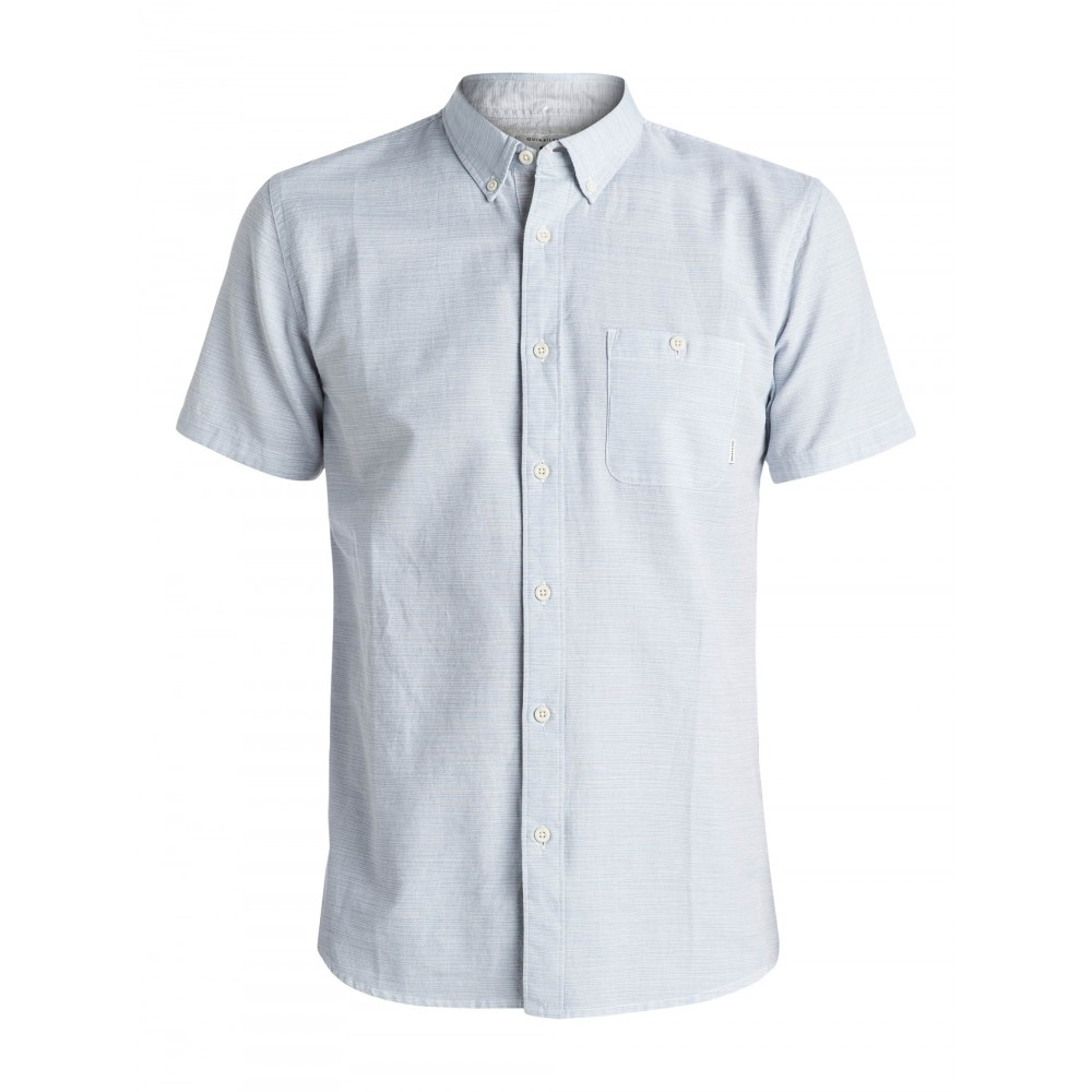 Mens Waterfalls Short Sleeve Shirt EQYWT03386-BME0