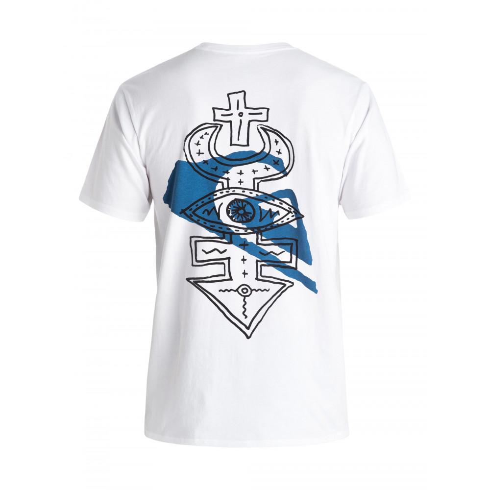 Mens Temple T Shirt EQYZT04165 Quiksilver