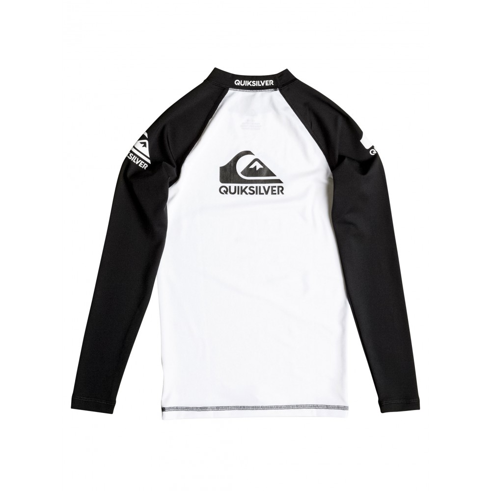 Boys 8-16 Comp Long Sleeve Rash Vest UQBWR03013 Quiksilver