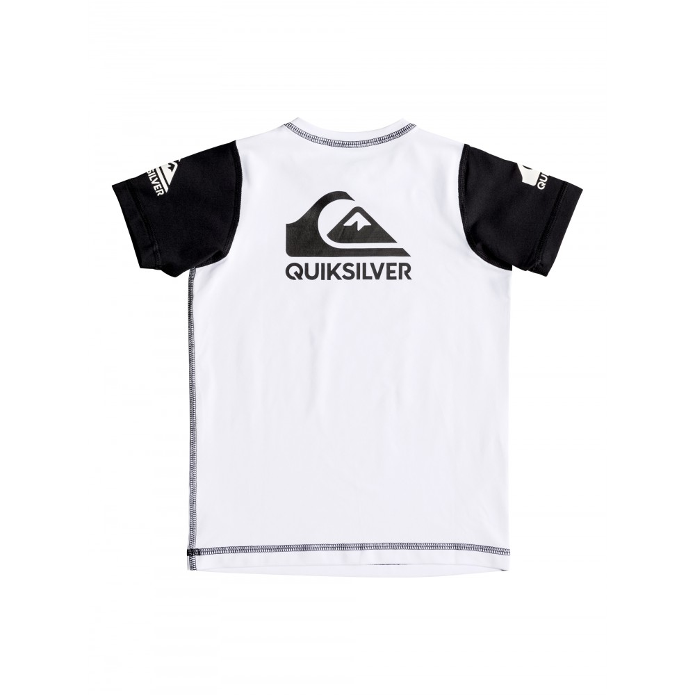 Boys 2-7 Heats On Short Sleeve Rash Vest UQKWR03038 Quiksilver