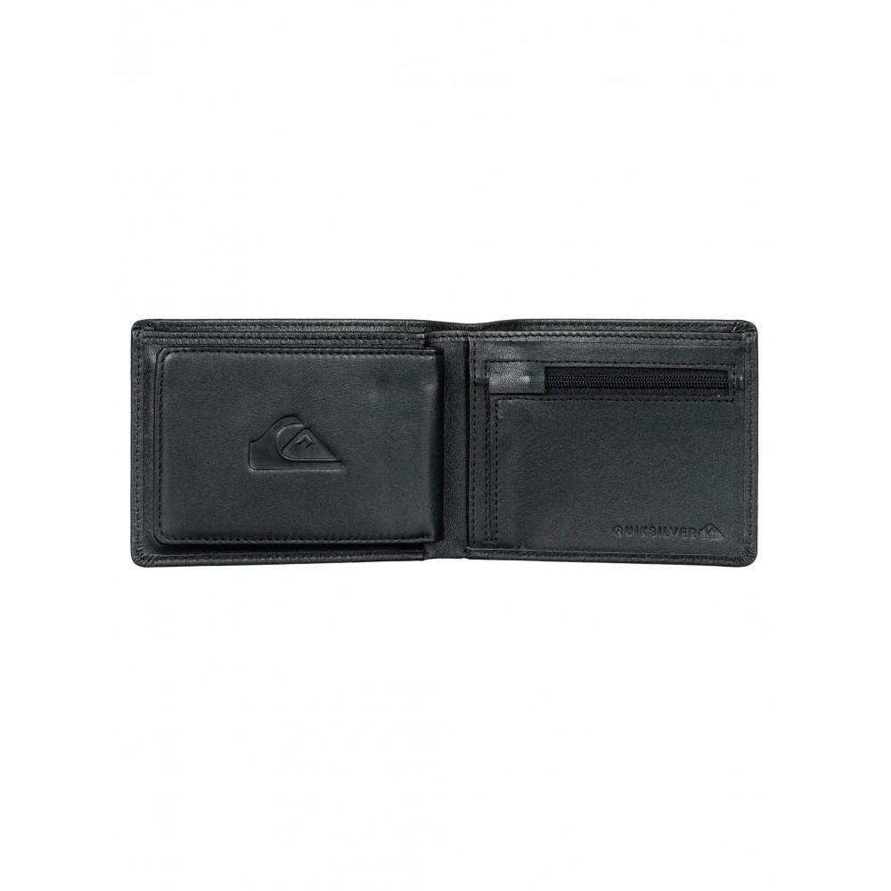 Mens Miss Dollar Leather Wallet UQYAA03091 Quiksilver