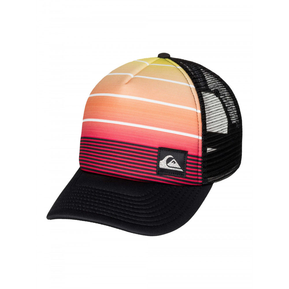 Boys 8-16 Stripe Play Trucker Cap