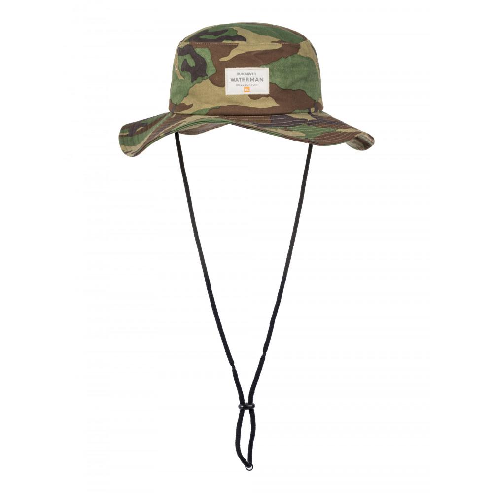 62365661194 Mens Top Class II Wide Brim Hat AQMHA03059 - Quiksilver