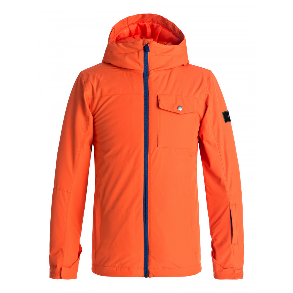 Boys 8-16 Mission Solid 10K Snow Jacket