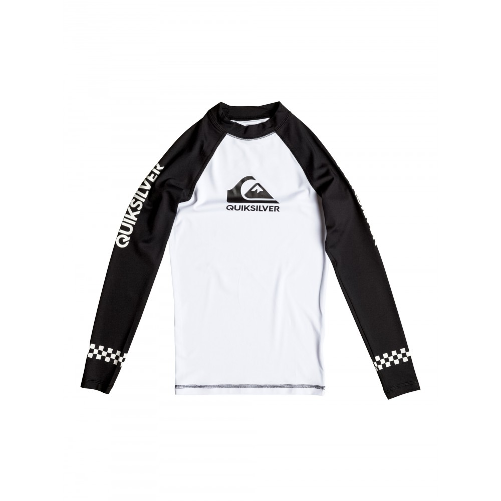 Boys 8-16 On Tour Long Sleeve Rash Vest