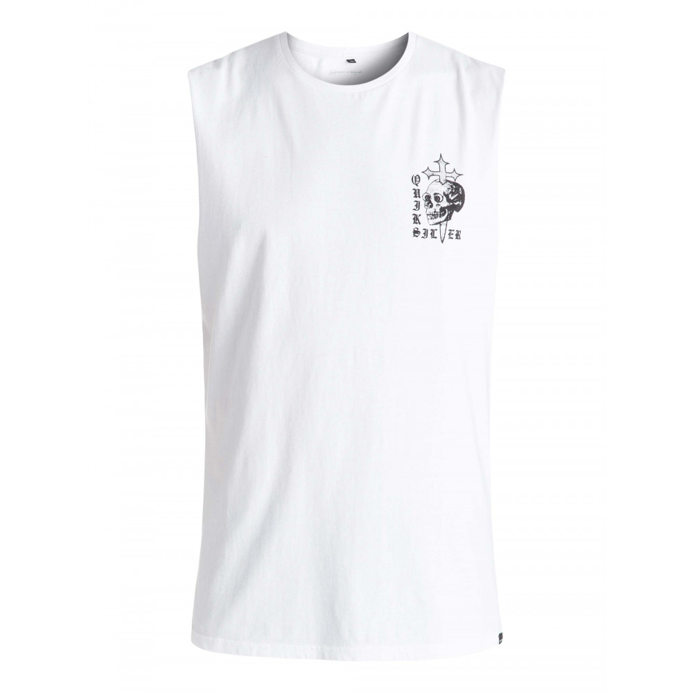 Mens Skull Cross Muscle Tank