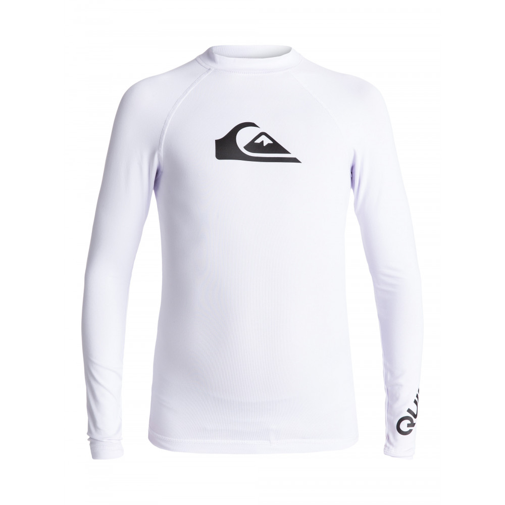 Boys 8-16 All Time Long Sleeve UPF 50 Rash Vest