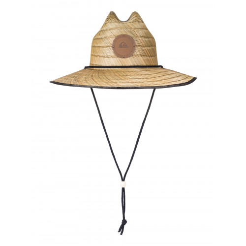 Mens Dredge Waterman Straw Hat