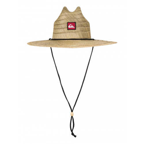 Mens Pierside Straw Lifeguard Hat