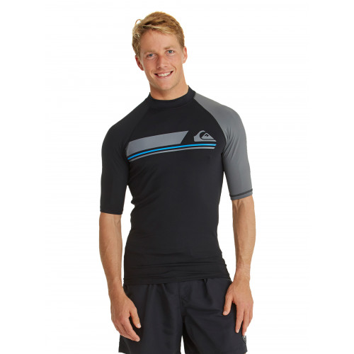 Mens Active Short Sleeve Rash Vest