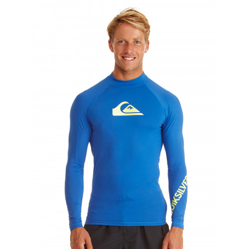 Mens All Time Long Sleeve UPF 50 Rash Vest