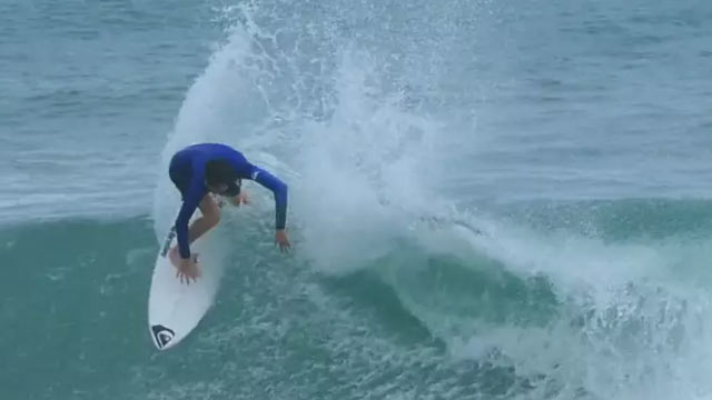 Noa Dupouy's Beachbreak Blitz